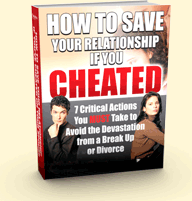 How to Save Your Relationship if you Cheated